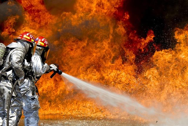 incendie à la grange